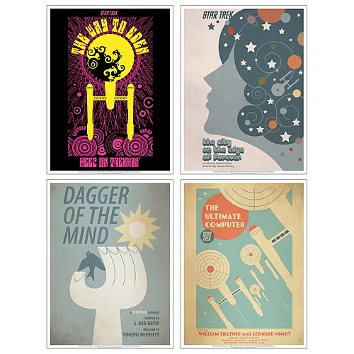 Star Trek The Original Series Fine Art Poster Set 1