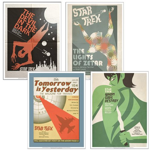 Star Trek The Original Series Fine Art Poster Set 11