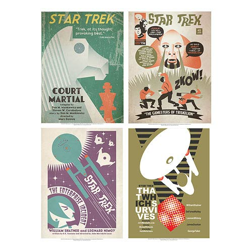 Star Trek The Original Series Fine Art Poster Set 14