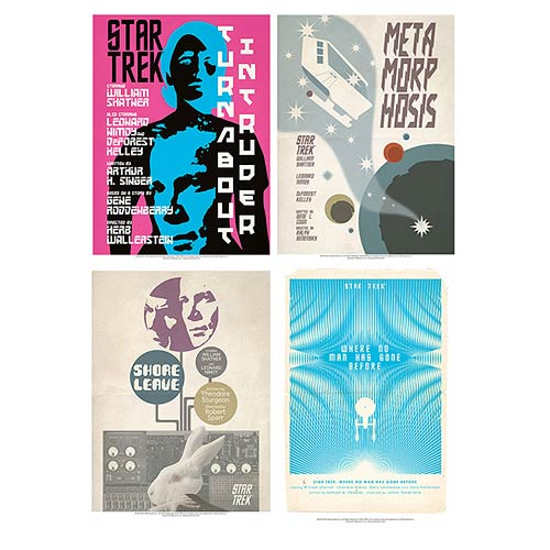 Star Trek The Original Series Fine Art Posters Set 20