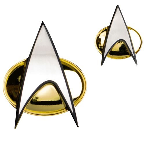 Star Trek Next Generation Communicator Badge Prop Replica