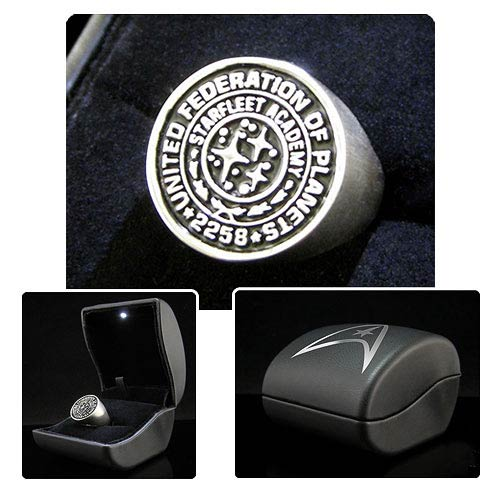 Star Trek Into Darkness Starfleet Academy Ring Prop Replica