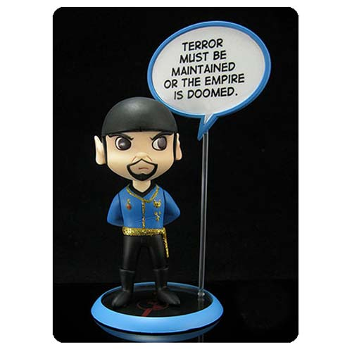 Star Trek Mirror Mirror Spock Q-Pop Vinyl Figure