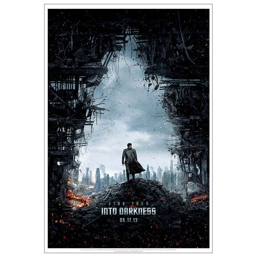 Star Trek Into Darkness Villain Movie Poster Lithograph