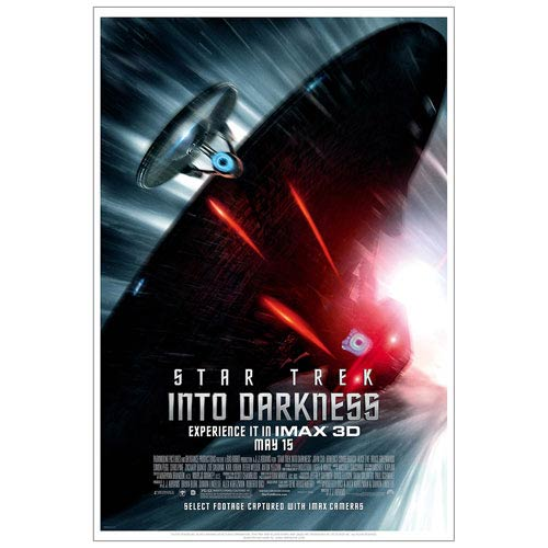 Star Trek Into Darkness Pursuit Movie Poster Lithograph