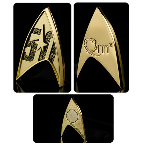 Star Trek 50th Anniversary Badge Magnetic Pin