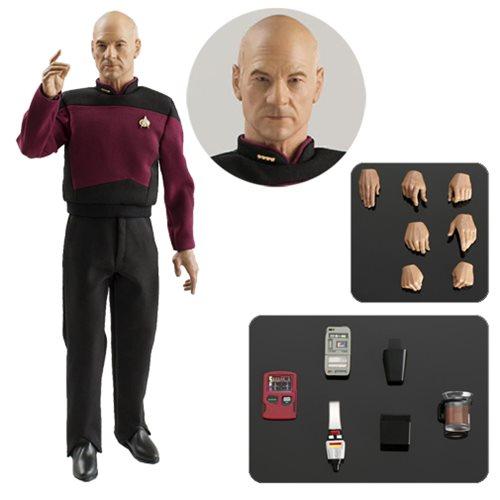Star Trek: TNG Captain Jean-Luc Picard 1:6 Action Figure