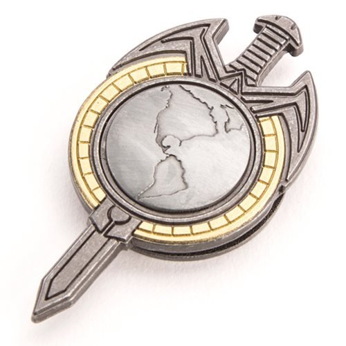 Star Trek: TNG Mirror Universe Magnetic Insignia Badge