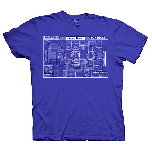 Warehouse 13 Farnsworth Blueprint T-Shirt