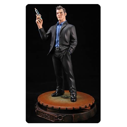 Warehouse 13 Pete Lattimer Animated Maquette Statue