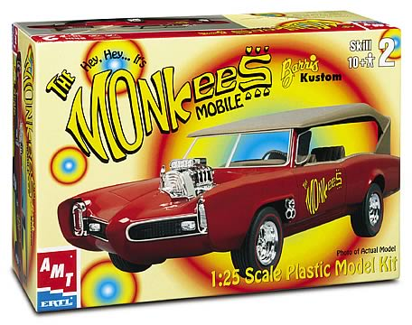 Monkee Mobile Model Kit