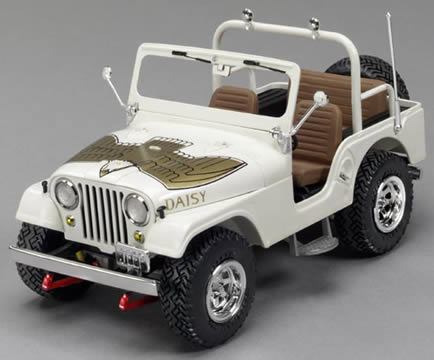 Daisy Duke's Jeep Model Kit