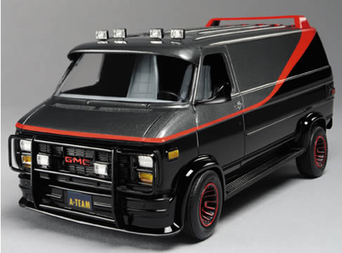 Gmc Truck For Sale >> A-Team Van Model Kit - RC2 - A-Team - Model Kits at ...