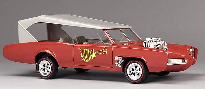Monkee Mobile 1:18 Scale Die Cast