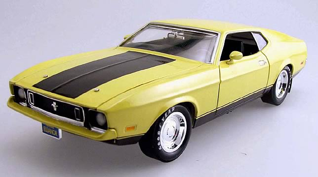 Gone in 60 Seconds Mach 1 1:18 Scale Die Cast
