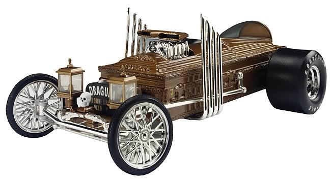The Munsters Dragula 1:18 Scale Die Cast