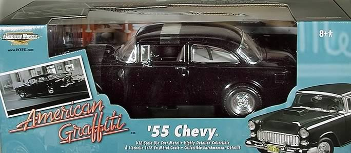 American Graffiti 1955 Chevy 1:18 Scale Die Cast