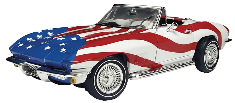 Austin Powers Corvette 1:18 Scale Die Cast