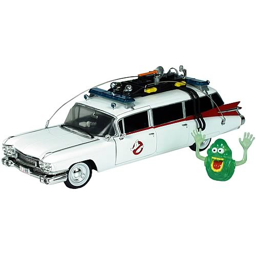 Ghostbusters Ecto-1 1:21 Scale Die Cast