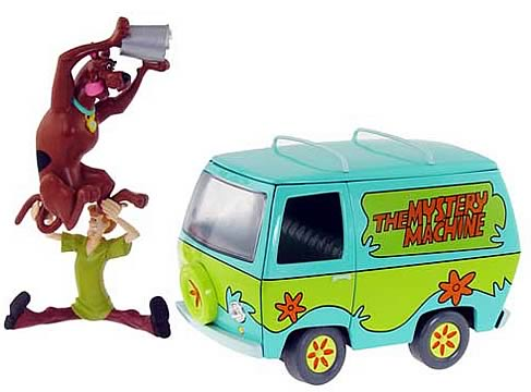 Scooby-Doo Mystery Machine 1:18 Scale Die Cast