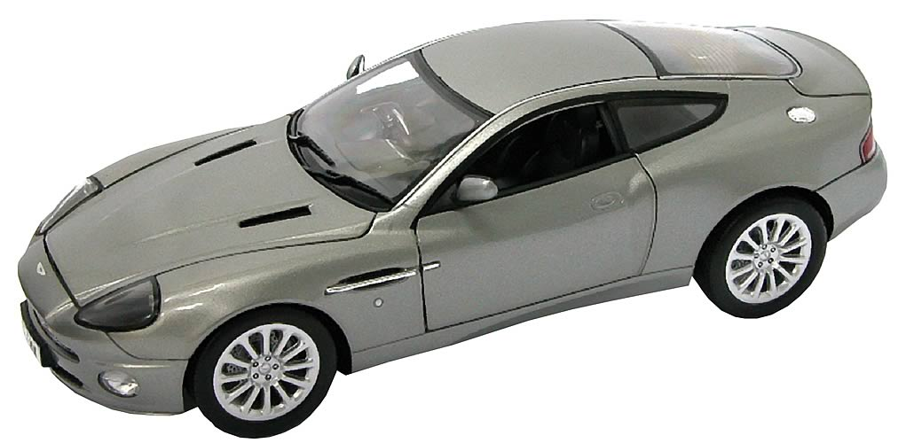 james bond aston martin vanquish die cast 1 18 scale. Black Bedroom Furniture Sets. Home Design Ideas