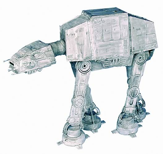 Star Wars AT-AT Walker Model Kit