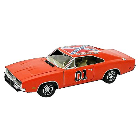 Dukes of Hazzard 1:18 Scale Deluxe General Lee Die-Cast Car