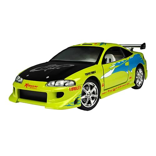Fast and the Furious 1:18 Scale 1995 Mitsubishi Eclipse Car