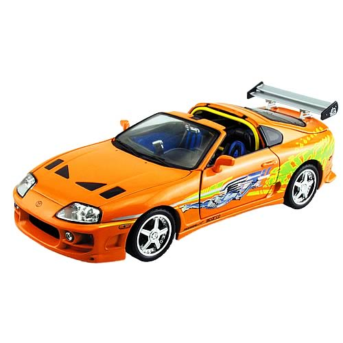 Fast and the Furious 1:18 Scale 1995 Toyota Supra Car