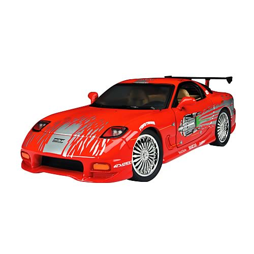 Fast and the Furious 1:18 Scale 1993 Mazda RX7 Car
