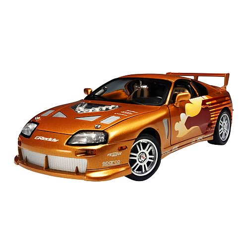 fast and the furious 1 18 scale 1993 toyota supra car. Black Bedroom Furniture Sets. Home Design Ideas
