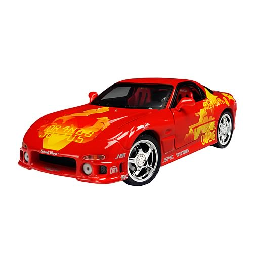 Fast and the Furious 1:18 Scale 1994 Mazda RX7 Car