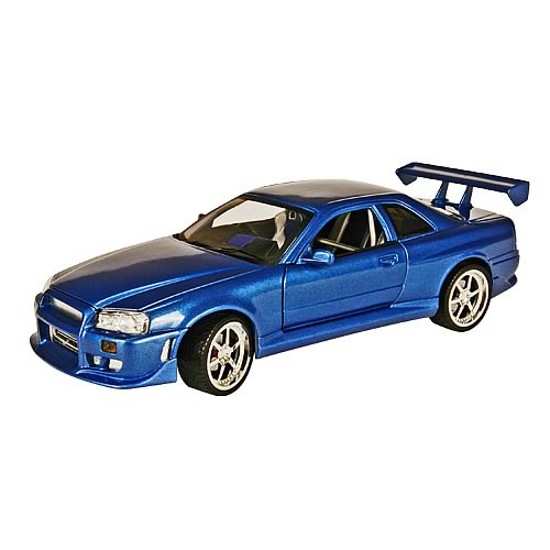 Fast and the Furious 1:18 Scale 2001 Nissan Skyline Car
