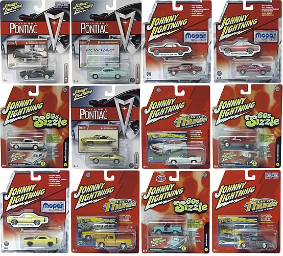 Johnny Lightning C.A.R.S. R15 Case