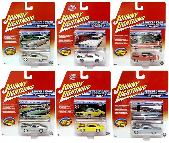 Johnny Lightning Muscle Cars R7 Case