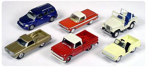 Johnny Lightning Trucks and SUV`s R1 Case