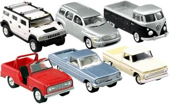 Johnny Lightning Trucks and SUV`s R2 Case