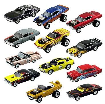 Johnny Lightning Street Freaks R19 Case