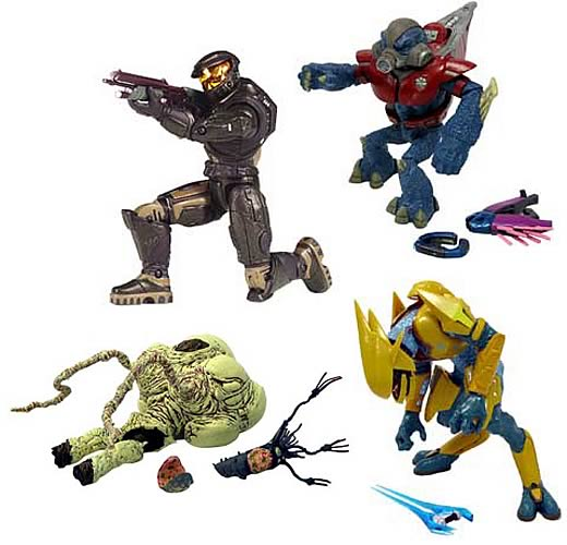 Halo Action Figures Series 5 Case