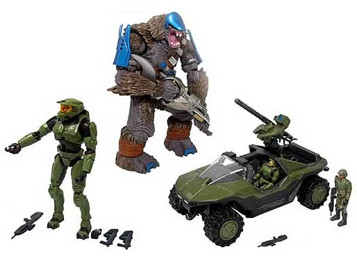 Halo 2 Action Figures Series 1 Case