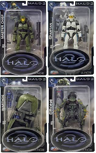 Halo 2 Action Figures Series 2 Case