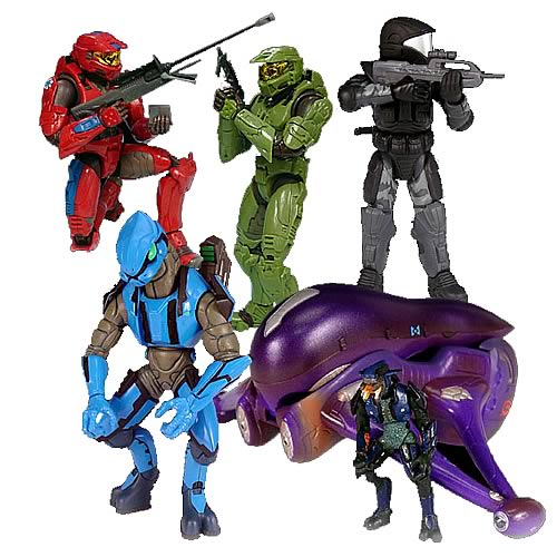 Halo 2 Action Figures Series 4 Case