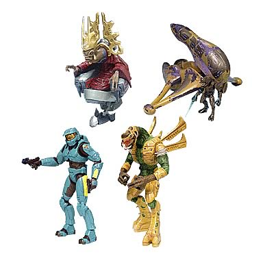 Halo 2 Action Figures Series 7 Case