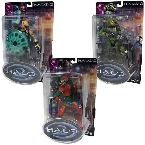 Halo 2 Action Figures Series 8 Case