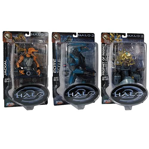 Halo 2 Action Figures Series 10 Case