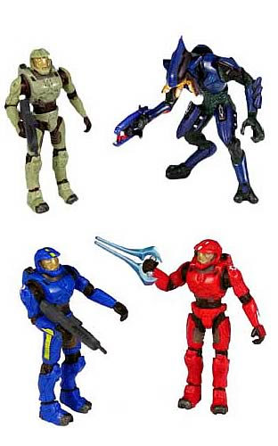 Halo 2 Mini Figure 2-Pack Series 1 Case