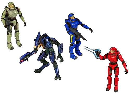 Halo 2 Mini Figure 5-Pack Series 1 Case