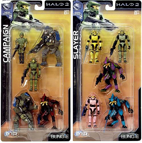 Halo 2 Mini Figure 5-Pack Series 4 Case