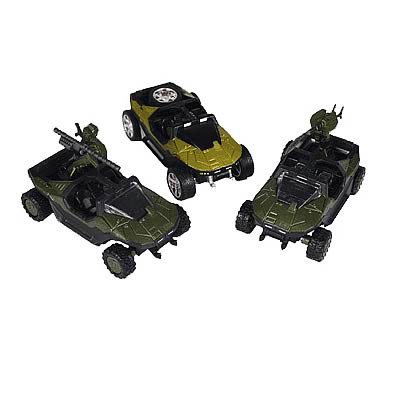 Halo 2 Die Cast Warthog Series 1 Case