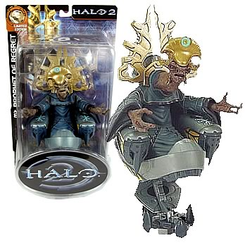 Halo 2 Prophet of Regret Action Figure